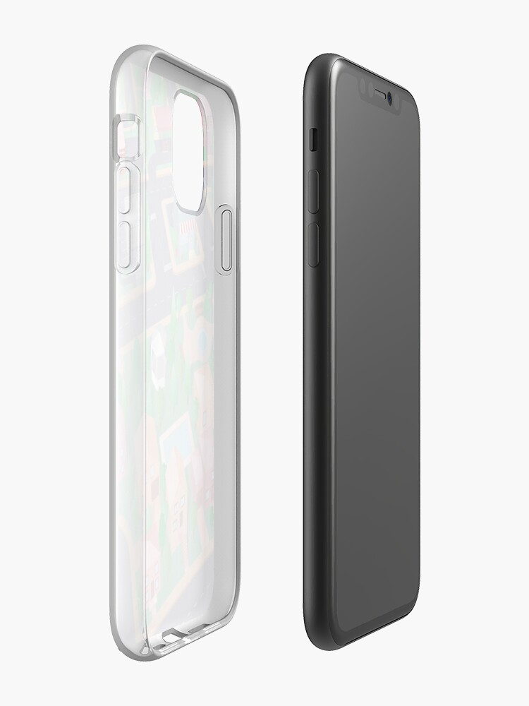 Alternate view of Vector City iPhone Case & Cover