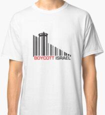 Boycott Israel (wall version) Classic T-Shirt