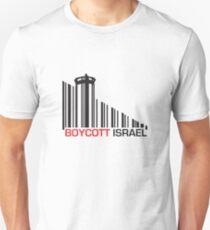 Boycott Israel (wall version) T-Shirt