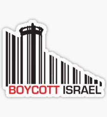 Boycott Israel (wall version) Sticker