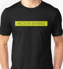LCD: Access Denied Unisex T-Shirt