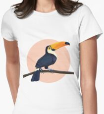 Tropical Toucan Fitted T-Shirt