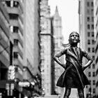 Fearless Girl  New York City by Sean Sweeney