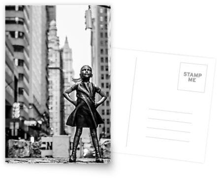«Chica sin miedo de la ciudad de Nueva York» de Sean Sweeney