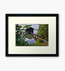 Water Barn (HDR) Framed Print