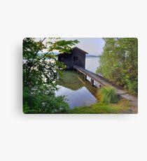 Water Barn (HDR) Metal Print