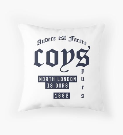 COYS - North London Throw Pillow