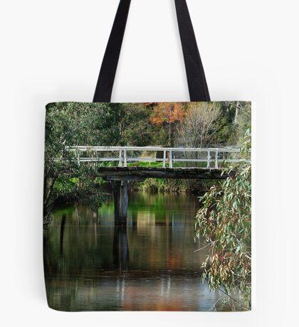 Old Cart Bridge,Seven Creeks, Euroa Tote Bag