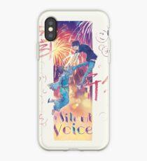 A Silent Voice - Koe no Katachi poster iPhone Case