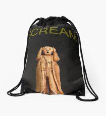 Scream  Drawstring Bag