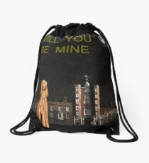The Scream World Tour St James's Palace Will You Be Mine Drawstring Bag