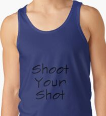Apparel Station Shoot Your Shot Graphics Tank Top