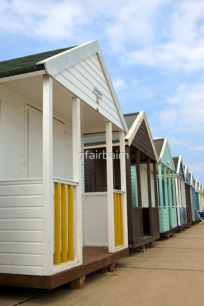 Beach Huts by gfairbairn