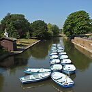 The canal Hythe Kent by Beatrice Cloake
