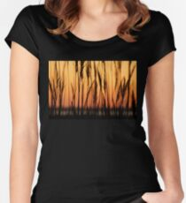 Cupsogue Reeds Women's Fitted Scoop T-Shirt
