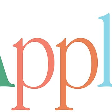 Vintage Apple Logo by leanugget