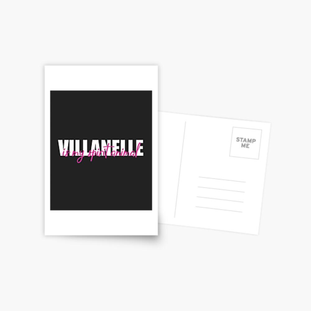 VILLANELLE Postcard