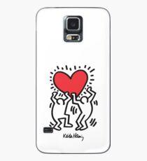 Keith Haring, Heart, Dancing Case/Skin for Samsung Galaxy