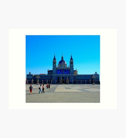 "Temples - ""Almudena Cathedral (ES)"" Art Print"