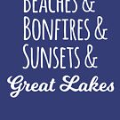 Good Times at the Great Lakes by Megan Noble