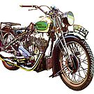 Royal Enfield Motorcycle by robertemerald