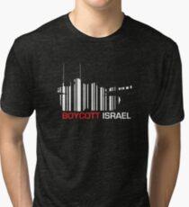 Boycott Israel (tank version) Tri-blend T-Shirt