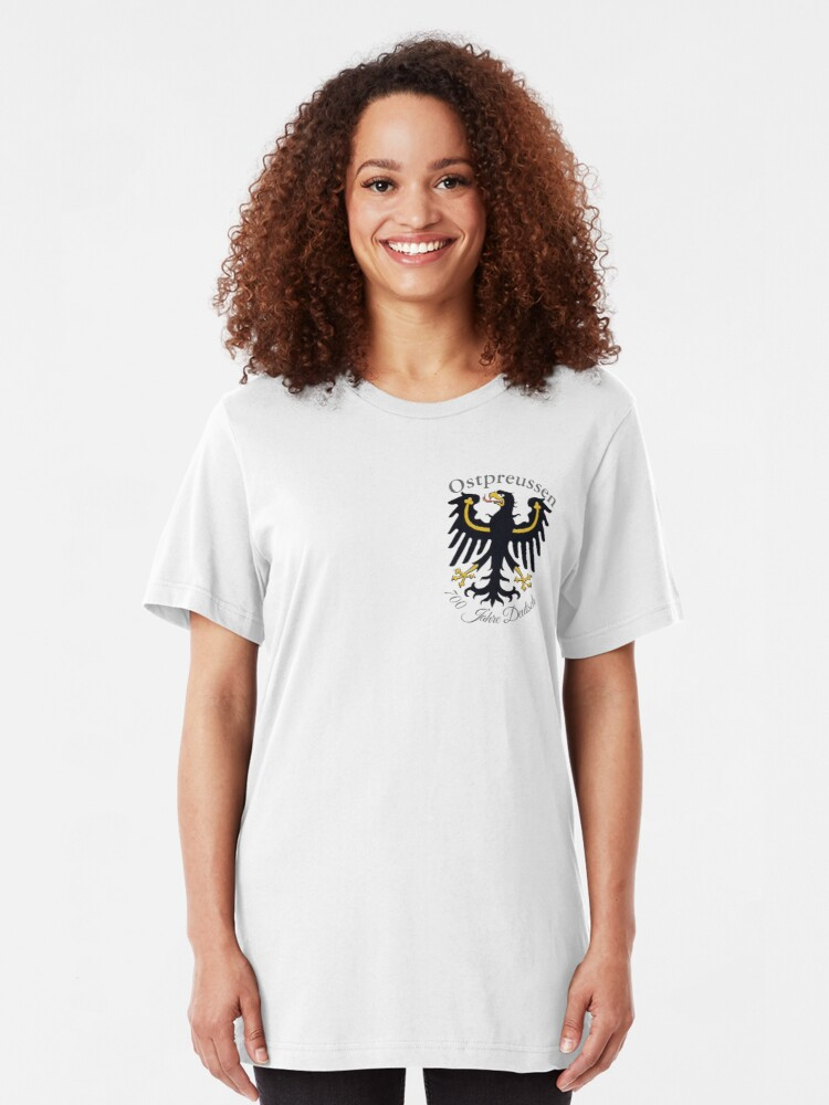 Alternate view of East Prussia Eagle  Slim Fit T-Shirt