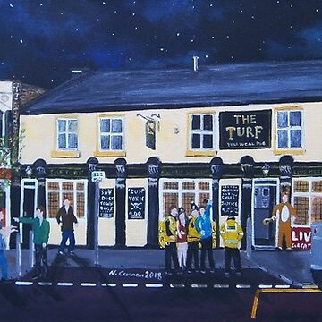 Consett, The Turf, Derwentside Pizza, Chaplains,Pizza Pizza Front St by CrossanArt