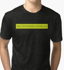 LCD: Multitasking Disabled Tri-blend T-Shirt