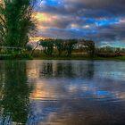 Sunset Ford by Nigel Bangert