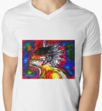 New Age Reptilian Men's V-Neck T-Shirt