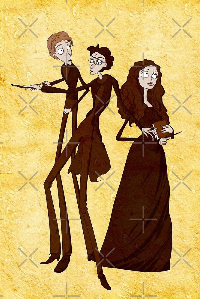 Tim Burton's Potter by Nana Leonti