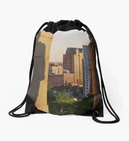 Protective Shadow Drawstring Bag