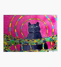 418 - QUEEN SUZIE - DAVE EDWARDS - COLOURED PENCILS 2015 Photographic Print