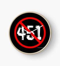 NO 451! Clock