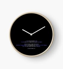 20 year coma Clock