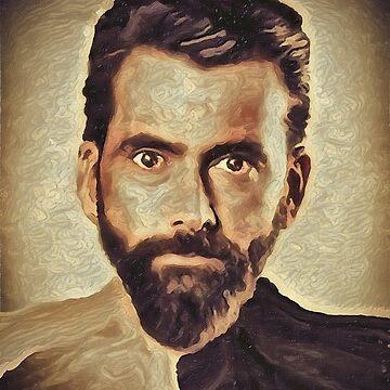David Tennant Painted by Rob-Rad-Artwork
