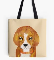 The Beagle Puppy, 20 in x 20 in, 2018 Tote Bag