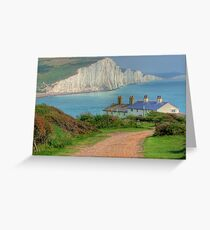The Seven Sisters - The Classic View!  - HDR Greeting Card