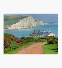 The Seven Sisters - The Classic View!  - HDR Photographic Print