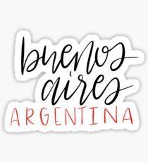 Buenos Aires Argentina Sticker