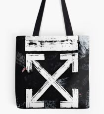 OFF WHITE Galaxy Brushed Tote Bag