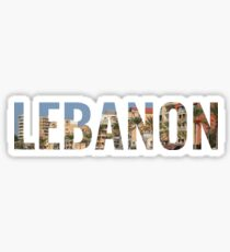 I Love Lebanon Design Sticker