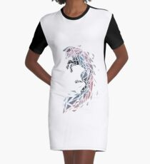 Animales-001 Graphic T-Shirt Dress