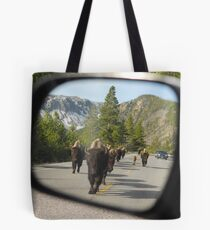 Objects in Mirror... Tote Bag
