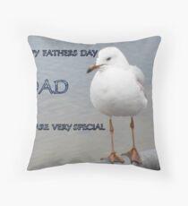Silver Gull.. Inverloch..Victoria Throw Pillow