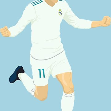 Gareth Bale No.11 by DanDobsonDesign