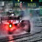 Formula 1 Ferrari rain race  by Srdjan Petrovic