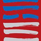 09 Restrained I Ching Hexagram by SpiritStudio