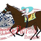 American Pharoh Preakness 2015 by Ginny Luttrell